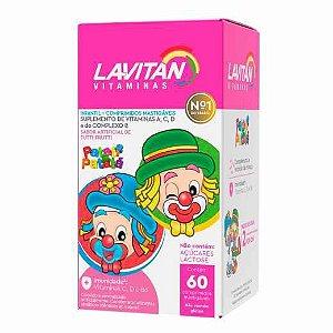 Lavitan Infantil Sabor Tutti-Frutti 60 Caps