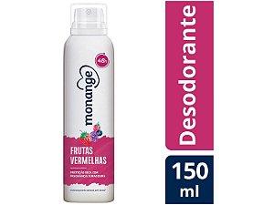 Desodorante Monange Frutas Vermelhas 150ml