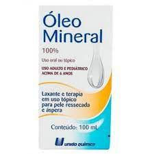 Oleo de Mineral 100ml União Quimica