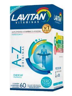 Suplemento Vitamínico Lavitan Suplementos 60 Drágeas