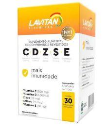 Suplemento Alimentar Lavitan CDZSE Mais Imunidade 30 Comprimidos