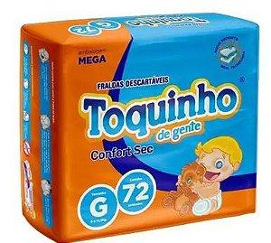 Toquinho Confort Sec Mega G C/72 - Diguinho Toquinho, G, 72