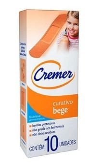 Cremer Curativo Bege C/10
