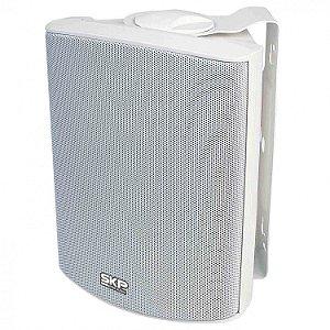 Caixa de Som Ambiente SKP SK 105 Prova D Água 5 Pol. Branca