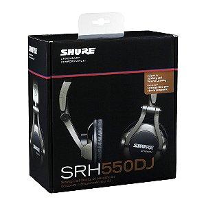 Fone De Ouvido Profissional Para DJ SRH550DJ-SHURE