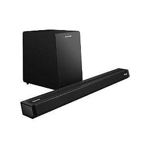 Caixa Soundbar e SubWoofer Sem Fio 2.1 POLARIS 900 - TELEFUNKEN