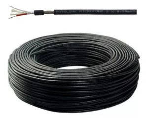 Cabo Para Microfone 2x0,30 mm2 Rolo 100 Metros - Datalink