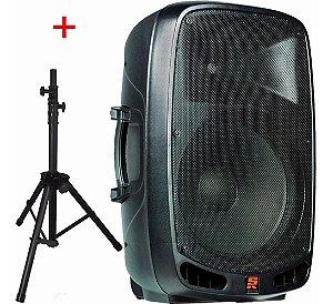 Caixa Acústica Ativa PS-1501A Bluetooth USB C/ Pedestal - Staner