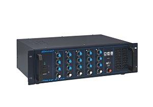 Cabeçote Amplificado ONEAL OMXP-612N 5 Entradas 180 Watts RMS