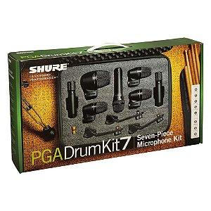 Kit 7 Microfones Para Bateria PGA DRUMKIT7 - SHURE