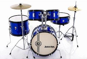 Bateria Junior Azul Metalico AZ one drum JBJ1049 - NAGANO