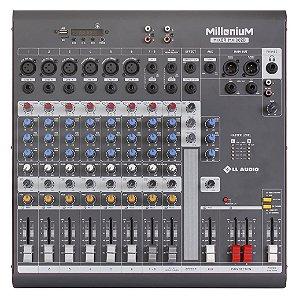 Mesa de Som Millenium MX1002D 10 Canais Bivolt - LL Áudio