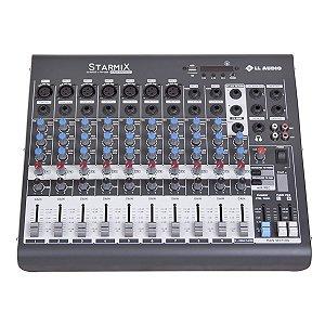 Mesa De Som  Stereo 10 Canais STARMIX XMS1002D -LL Áudio
