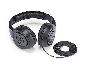 Fone de Ouvido Samson SR350 Estéreo Over-ear Preto