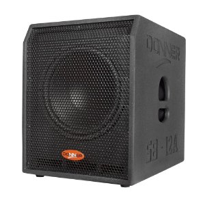 SubWoofer Ativo 500W RMS 12A SB - DONNER