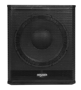 SubWoofer Ativo 625W RMS 15A SB - DONNER