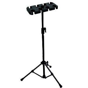 Pedestal De Suporte Para 8 Microfones AM 08 P - VECTOR