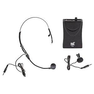 Microfone Sem Fio Headphone VHF MS115-CLI - TSI