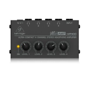 Amplificador Para Fone de Ouvido HÁ 400 Behringer 4 Canais