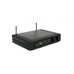Microfone Profissional Sem Fio Dinâmico Duplo UHF261 - SKP