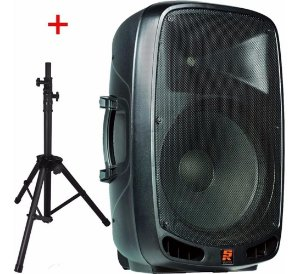 Caixa Acústica Ativa PS1501A Com Pedestal - Staner