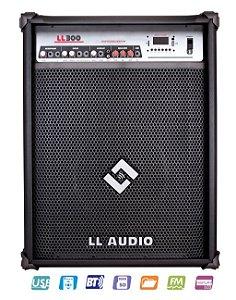Caixa de som Amplificada Multiuso 75W LL 300 - LL AUDIO