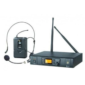 Microfone Sem Fio Headset UHF SRW48S/BT48/HT9A - STANER