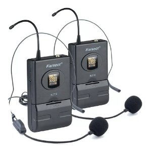 Microfone Sem Fio Duplo Headset KRD200DH - KARSECT