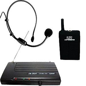 Microfone Sem Fio De Cabeça LS901/HD750 - LESON