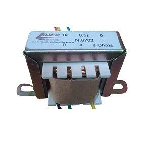 Transformador De Linha 6702 70V 4/8 OHMS - Lider