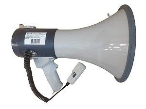 Megafone Csr Sk 66 25w Com Microfone De Mão Sirene E Volume