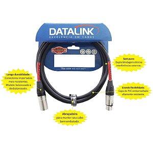 CABO DATALINK GB004 0,30 XLR XLR 7MTS