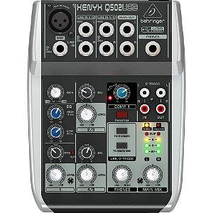 Mesa De Som Analógica XENYX Q 502 USB - BEHRINGER