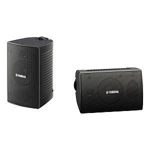 Caixa Acústica Som Ambiente Passiva Preto VS6 (Par) - Yamaha