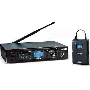 Sistema de Monitor Sem Fio VMT-50 + Fone E50 Pro - VOKAL