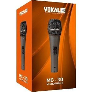 Microfone De Mão Dinâmico MC30 - VOKAL