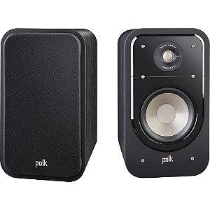 Caixas Acústicas Bookshelf - Polk Audio Signature - S20 125w 8 Ohms Preto (PAR)