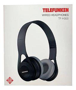 Fone de Ouvido Telefunken Wired Headphone TF-H300