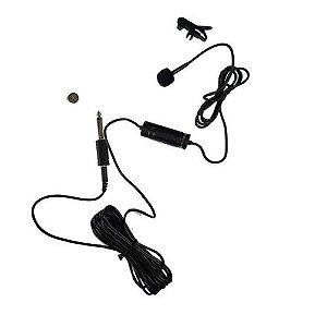 Microfone De Lapela Com Fio YTM-012 - YOGA