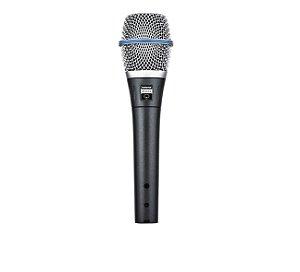 Microfone Com Fio Shure Beta 87a