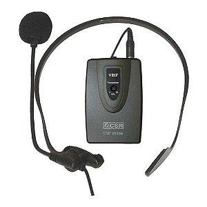 Microfone Sem Fio Headset Para Câmeras 2010A - CSR