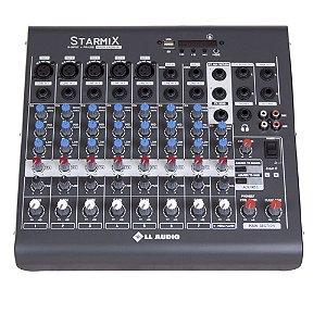 MESA DE SOM LL AUDIO - XMS 802 R