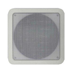 Arandela Coaxial CQ 670 PPN 6Pol. 68W Quadrada Branca - DSK