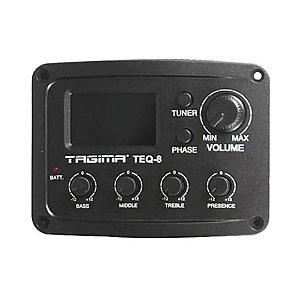 Pré - Equalizador para Violão com Afinador TEQ 8 - TAGIMA