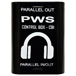 Adaptador Para Fone De Ouvido Control Box CB1 Plus - PWS