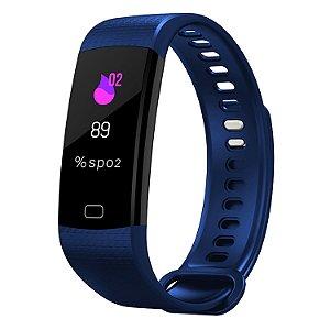 Smartwatch Targa 4 Band Pulseira Inteligente Azul Escuro