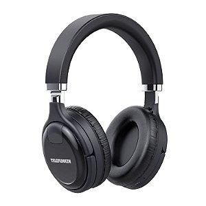 Fone De Ouvido Bluetooth Sem Fio Telefunken Fh 800 Bt Preto