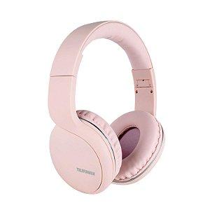 Fone de Ouvido Bluetooth Over-Ear H600BT Rosa TELEFUNKEN
