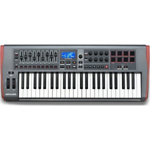 Teclado Controlador USB Midi Impulse 49 Teclas Novation