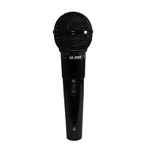 Microfone de Mão Com Preto Brilhante MC 200 - LESON